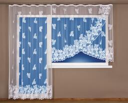 4Home függöny Brigita, 300 x 160 cm + 200 x 250 cm