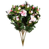 Umelá kvetina Azalka svetloružová, 35 cm