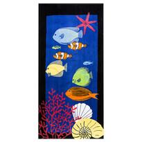 Plážová osuška Podmorský svet, 70 x 150 cm