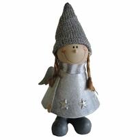 StarDeco Aniołek dekoracyjny dziewczynka, 22 cm